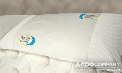 Soft Non-Woven Polypropylene Fresh Cover used as a pillow cover