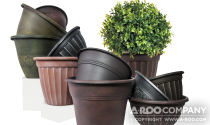IMpression™ Floral Containers come in a variety of finishes and styles