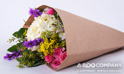 Kraft Paper Sleeves For Bouquets And Potted Plants Www A Roo Com